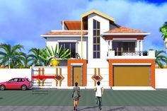 Projet de construction dun Duplex a Ouagadougou BurkinaFaso, Albert Kwessi
