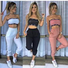 Ropa in 2019 Cute Lazy Outfits, Swag Outfits For Girls, Cute Swag Outfits, Teenage Outfits, Sporty Outfits, Teen Fashion Outfits, Retro Outfits, Cute Fashion, Stylish Outfits