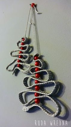 Bardzo prosta choinka na szydełku, szydełkowa choinka, crochet, christmas ornament, crochet christmass tree