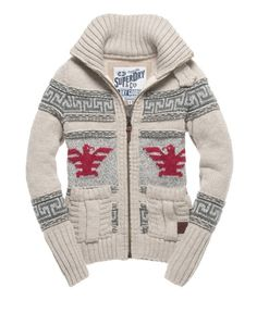 Need this one too! Superdry Big Zip Buffalo Knit