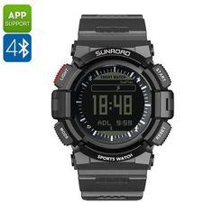 Sunroad FR9211B Sport Watch