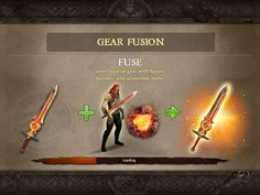 Dungeon Hunter 5 by GameLoft - Loading Tips - UI HUD User Interface Game Art GUI iOS Apps Games