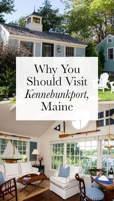 Kennebunkport, Maine: An idyllic seaside town that I can't wait to get back to. Maine New England, New England States, New England Fall, New England Travel, Portland Maine, Maine Road Trip, Road Trips, Kennebunkport Maine, Ogunquit Maine