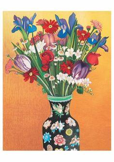 Beth Van Hoesen: Flowers Notecard Folio