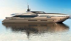 The new superyacht Eurocraft Eldoris 43m designed by Federico Fiorentino