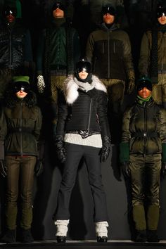 Moncler Grenoble Fall 2013...last ski jacket you will ever need...style + function