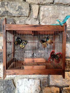 Cage aux papillons #prunefauxplumassiere