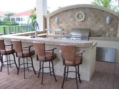 When you are designing an outdoor kitchen, the first major decision to make is the type of grill or grills you are going to use. Once the built in grill has been decided and the various accessories chosen, the space a overall shape of the grill...