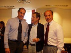Con Andoni Zubizarreta y Juan Antonio Corbalán