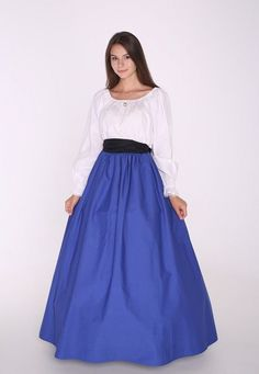 96f799e3aca11 Civil War Victorian Renaissance Medieval Frontier Pioneer Dress Gown  Costume
