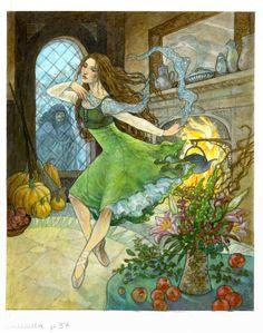 Cinderella by Rebecca Guay