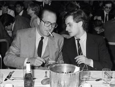 Jacques Chirac et Nicolas Sarkosy