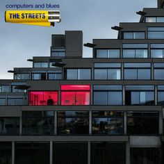 The Streets - Computers and Blues - The cover photo is a close-up of the Norfolk Terrace halls of residence at the University of East Anglia designed by architect Denys Lasdun.
