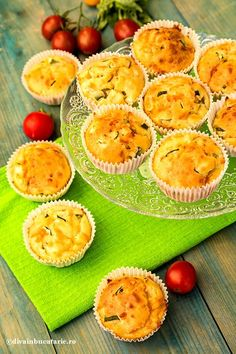 Baby Food Recipes, Healthy Recipes, Muffins, Canapes, Ricotta, Quiche, Cantaloupe, Zucchini, Pineapple