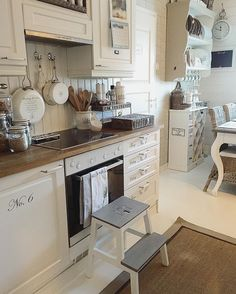 .These are truly some inspiring kitchen decoration ideas.  I love the trendy paint schemes along with all of the cute kitchen decorative accents.  I like to combine elements of traditional home decor along with accents from modern home decor to make a beautiful kitchen.
