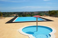 Unbelievable views from this pool! Algarve