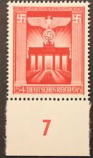 Nazi Germany 1943Anniversary of Nazi Party stamp fully gummed and with margin