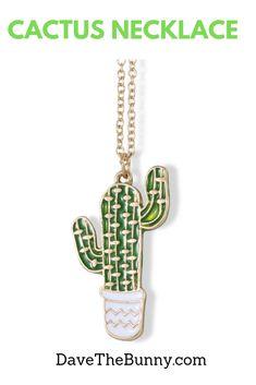 Cactus Necklace Jewelry Cacti Charm Stuff Gifts for Women Teen Girls Men Arizona Pendant Cactus Succulent Decor - Cactus Decor - Cactus Necklace Pendant - Cactus Jewelry Gifts for Women - Cactus Gift for Teen Girls - Great Cactus Stuff for Cacti Lovers Gifts For Teens, Gifts For Women, Gifts For Her, Latest Jewellery Trends, Jewelry Trends, Jewelry Gifts, Jewelry Necklaces, Boho Jewellery, Holiday Jewelry
