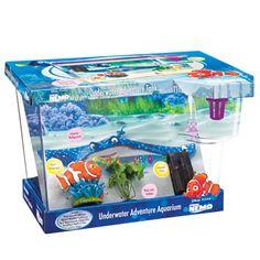 finding nemo fish tank | ... Fish Aquariums & Tanks Penn Plax Finding Nemo Big Eye Aquarium Kit