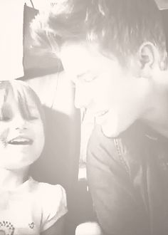 JUSTIN AND JAZZY BIEBER <3