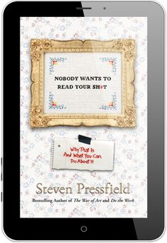 Nobody Wants to Read Your Shit - by Steven Pressfield - definitely worth reading if you're self publishing!