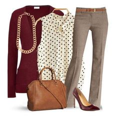 Love everything about this working girl outfit. Color, style, the fact that I could use the top pieces in a different more casual outfit. Trajes Business Casual, Business Casual Outfits, Professional Outfits, Business Attire, Business Professional, Casual Attire, Business Clothes, Business Shoes, Young Professional