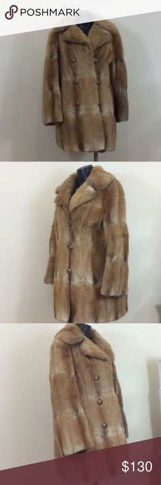 "Vintage Mink Coat Fur Salon Joske's Beautiful Vintage Mink soft and still in great condition free of smells.  Always kept indoors.  Shoulders 16.5"", underarm 21"", sleeves 23.5"",  length 32"".  Monogrammed inside coat with initials ASL. Fur Salon Joske's  Jackets & Coats Puffers"