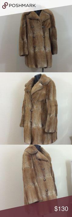 "Vintage Mink Coat Fur Salon Joske's Beautiful Vintage Mink soft and still in great condition free of smells.  Always kept indoors.  Shoulders 16.5"", underarm 21"", sleeves 23.5"",  length 32"".  Monogrammed inside coat with initials ASL. Fur Salon Joske's  Jackets & Coats Puffers"