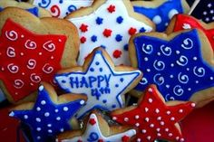 Decorated Sugar Cookies - Fourth