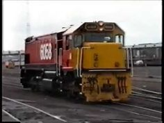 Proceeding with a Df from the loco depot to the marshalling yards at Westfield, Auckland and coupling to a coal train to be taken to Huntly. Scenes of the ma. Auckland, Locomotive, New Zealand, Hunting, Train, Youtube, Deer Hunting, Locs, Youtubers