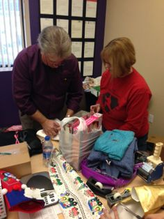 Many gifts to give for families in need.