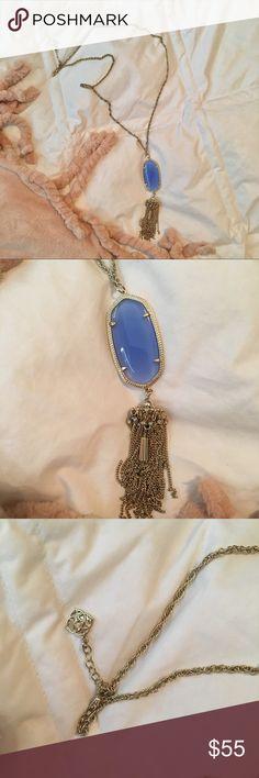 Kendra Scott necklace Kendra Scott necklace with blue stone Kendra Scott Jewelry Necklaces