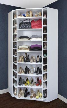 A Compact Shoe Closet