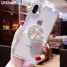 Glittery Bling Clear Phone Case For iPhone XS Max Case Thin Slim Transparent - Transparent Iphone 6 Plus Case - Transparent Iphone 6 Plus Case for sales. - Glittery Bling Clear Phone Case For iPhone XS Max Case Thin Slim Transparent Iphone 7 Plus, Iphone 8, Covers Iphone, Iphone 6 Cases, Coque Iphone, Sparkly Phone Cases, Glitter Iphone 6 Case, Bling Phone Cases, Cute Phone Cases