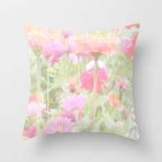 Prettiest Pink  Throw Pillow by Stacy Frett - $20.00