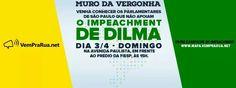 MARCOS ANTÔNIO VILLA - MURO da VERGONHA: Venha conhecer os parlamentares de SÃO PAULO que NÃO apoiam o IMPEACHMENT. Dia 03/04 às 15h DOMINGO, na Avenida Paulista, em frente ao prédio da FIESP. 2016.03.30