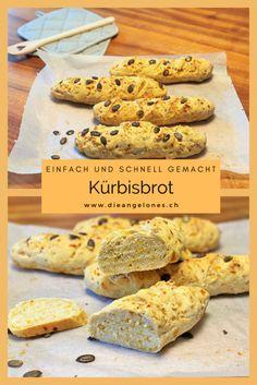 Kürbis-Brot ist eine saisonale Köstlichkeit, die einfach und schnell gebacken ist und garantiert auch Kürbis-Skeptikern schmeckt. Das goldene Brot ist nicht nur ein Hingucker, sondern schmeckt auch sehr fein. Selbst Kürbis-Skeptiker werden es lieben, denn es ist saftig und knusprig zugleich. Das Kürbisbrot eignet sich auch sehr gut zur Verwertung von Kürbisresten. #Kürbisbrot #LaCucinaAngelone #DieAngelones Cereal, Foodblogger, Breakfast, Happy, Swiss Guard, Morning Coffee, Ser Feliz, Breakfast Cereal, Corn Flakes