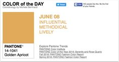 APPart – Mobile Art – Pantone Color of the Day – 'Golden Apricot' – TheAppWhisperer