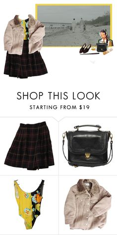 """hard work & dedication"" by miukuapocalypse ❤ liked on Polyvore featuring Rena Rowan, Pieces, Versace and Acne Studios"