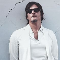 Norman Reedus from The Walking Dead ahh love him!