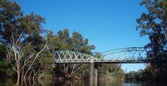 Bridge linking NSW to QLD over the Macintyre River Real Life, Bridge, Road Trip, Australia, River, Photos, Bridge Pattern, Practical Life, Bridges