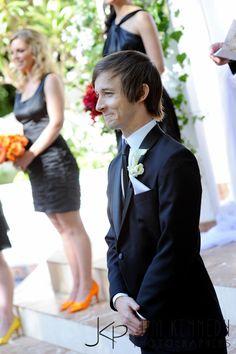 Andrew & Hali HE LOOKS SO HAPPY!!!!!!!!!!!!!!! daaaaaaawwwww