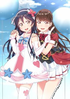 Love live Umi sonoda and Mimori her voice actress