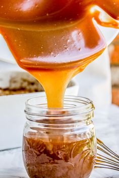 My Favorite Caramel Sauce from The Food Charlatan