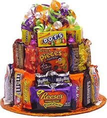 Candy cake Halloween contest prize idea