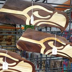 Another touchdown WOOD be nice... #GoHawks!  #Seahawks #WoodCarving #CraftShow #Woodworking ##SeattleSeahawks #NWRoadtrips