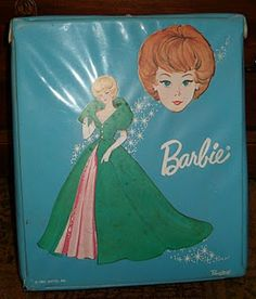 1960's Barbie case  i had one of these too.. my grandma or someone passed it down.. wish i still had
