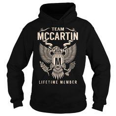 Team MCCARTIN Lifetime Member - Last Name, Surname T-Shirt