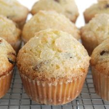 We give you here a basic muffin recipe, one which appears in  our King Arthur Flour 200th Anniversary Cookbook.  It should be a taking-off point; use it to create your own favorite muffins by adding fruits and flavorings, nuts and vegetables, or substituting various grains. Muffins, being so easy and quick to make, are wonderful for experimenting. For instant gratification, of both the tastebuds and the creative spirit, nothing beats a muffin!    King Arthur Flour's Basic Muffins
