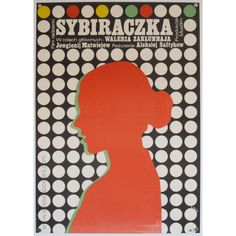 Polish film poster  by Romuald Socha (1974)